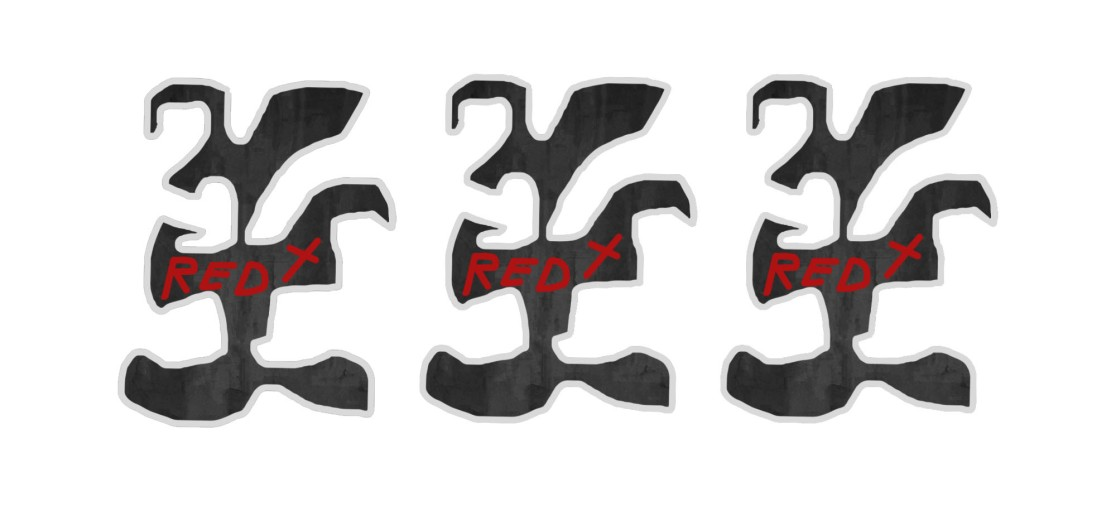 Lotta Sauce - Design - Red X 3 logos
